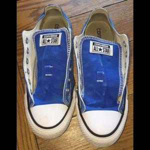 ⭐️Unisex blue converse men's size 6 woman's size 8